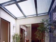 FRPグレーチングを使用してトップライト(天窓)を製作した事例